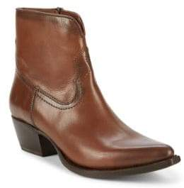 Frye Shane Leather Short Boots