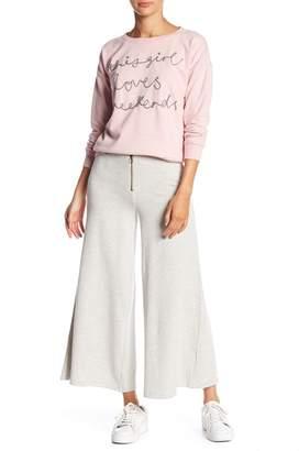 Romeo & Juliet Couture Wide Leg Sweatpants