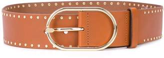 Frame micro-studded belt