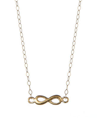 fcf548417 at The Bay · Tag Heuer FINE JEWELLERY 14KT Yellow Gold 17 Inch High  Polished Open Infinity Script Stationary Pendant