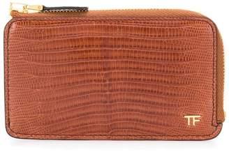 Tom Ford lizard-effect wallet