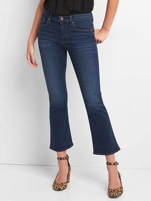 Gap High Rise Crop Flare Jeans