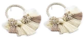 Mishky Medium Cartagena Hoop Earrings