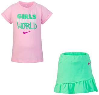 bfd54bc2b Nike Green Girls' Matching Sets - ShopStyle