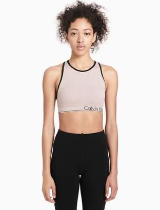 Calvin Klein high neck racerback sports bra