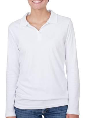 George Juniors' School Uniform Long Sleeve Polo