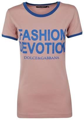 Dolce & Gabbana Dolce \u0026 Gabbana Fashion Revolution T-shirt