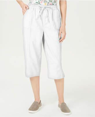 Karen Scott Petite Edna Capri Pants