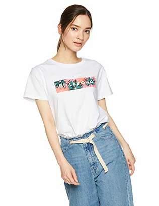 Billabong (ビラボン) - [ビラボン] [レディース] 半袖 プリント Tシャツ (テイラードFIT)[ AJ013-209 / SS LOGO TEE ] おしゃれ ロゴ CBY_マルチカラー US M (日本サイズM相当)