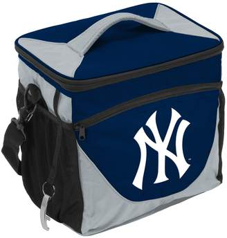 New York Yankees Logo Brand 24-Can Cooler Tote