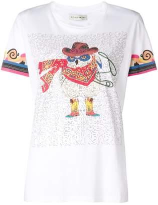 Etro owl print T-shirt