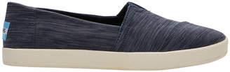 Toms Avalon 10010758 Navy Nylon Sneaker