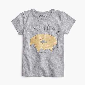 "J.Crew Girls' ""peace, love & donuts"" T-shirt"