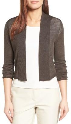 Women's Nic+Zoe Daybreak Linen Blend Cardigan $118 thestylecure.com