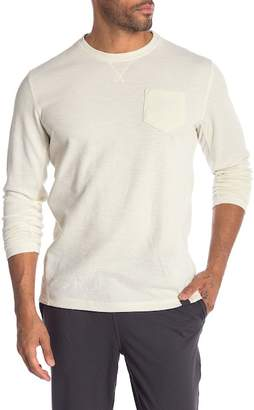 Hawke & Co Performance Waffle Knit Sweater