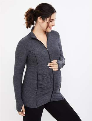 Motherhood Maternity Zip Front Maternity Active Jacket