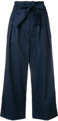 Max Mara belted wide-leg trousers