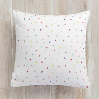 Confetti Party Square Pillow