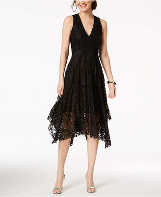Taylor V-Neck Lace Midi Dress