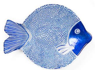 Vietri Marea Medium Serving Plate - Misc Blue