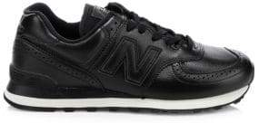 New Balance 574 Leather Brogue Sneakers