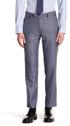 "Louis Raphael Pindot Slim Fit Trousers - 30-34"" Inseam"