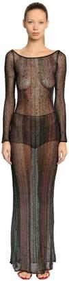 Missoni Embellished Mesh Knit Dress