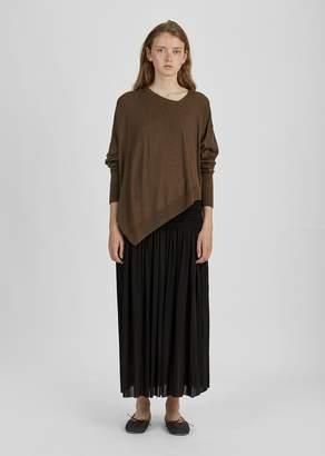 Isabel Marant Molly Draped Long Skirt Black