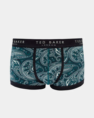 Ted Baker TOOCOOL Cotton paisley print boxer shorts