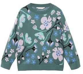 MANGO Jacquard knitted sweater