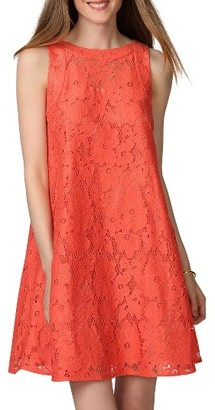 Women's Donna Morgan Floral Lace Swing Dress $98 thestylecure.com