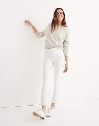 "Madewell 10"" High-Rise Skinny Crop Jeans: Button-Front Edition"