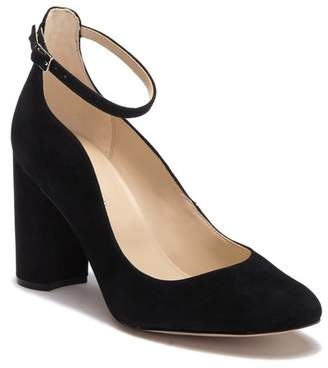 Marc Fisher Imagie Suede Ankle Strap Pump