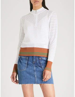 Sandro Infinity knitted sweatshirt