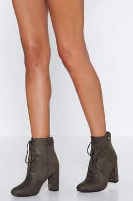 Nasty Gal Don't Need the Tassel Faux Suede Boot
