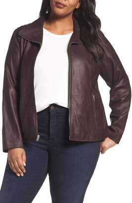 Andrew Marc Fabian Leather Moto Jacket