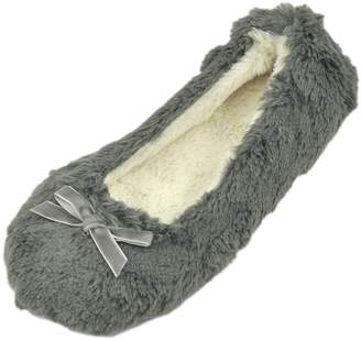 Soleus Home Slipper Women's Comfy and Warmth Indoor House Super Soft Slippers US 7/8