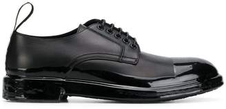 Dolce & Gabbana shiny toe cap Derby shoes
