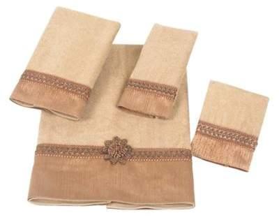 Braided Medallion Hand Towel