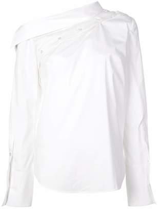 Monse asymmetric collar shirt