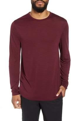 Calibrate Texture Stripe Long Sleeve T-Shirt