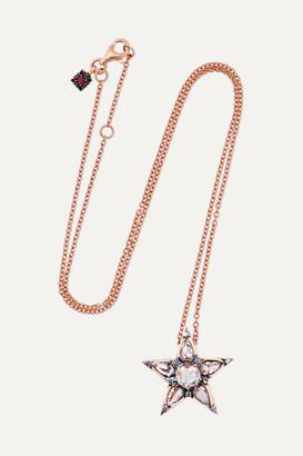 Selim Mouzannar - Istanbul 18-karat Rose Gold Diamond Necklace