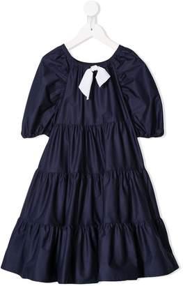 Il Gufo tiered maxi dress