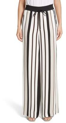 Lafayette 148 New York Allen Legacy Stripe Drape Cloth Pants
