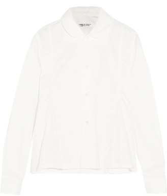 Comme des Garçons Comme des Garçons - Cotton Shirt - White $350 thestylecure.com