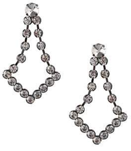 BCBGeneration Ballroom Glitz Faceted Crystal Statement Earrings