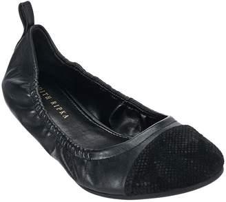 Judith Ripka Leather Slip-on Flats - Alberta