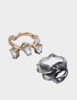 Voodoo Jewels Flower sea ring