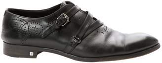 Louis Vuitton Black Leather Lace ups