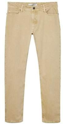 MANGO Slim-fit colored Alex jeans